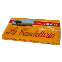 Family Chocolate by the cup LA CANDELARIA 200g