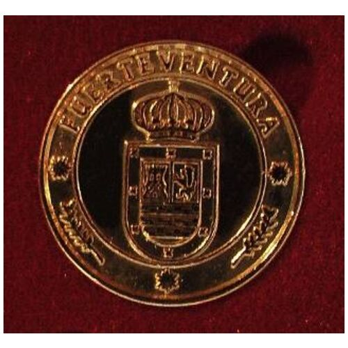 13 Monedas - Arras ISLAS Canarias ORO 24K