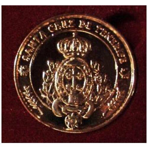 13 Coins - Einheit Münzen KANARISCHE INSELN 24k GOLD