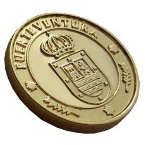 13 Unity Coins from Fuerteventura, Canary Islands. 24K Gold