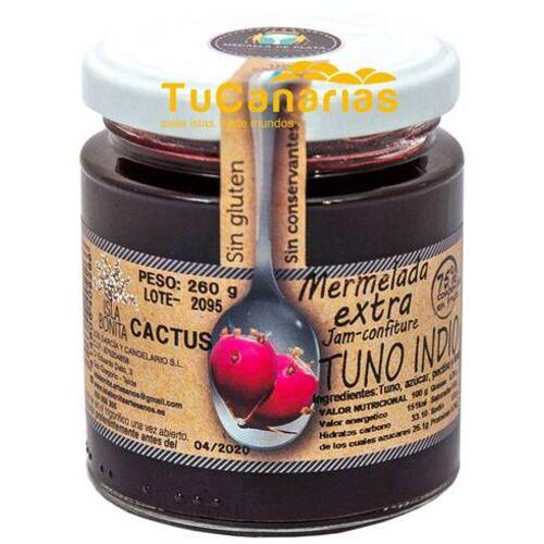 Mermelada Extra Tuno Indio Isla Bonita Natural 260g