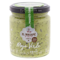 Mojo Green Sauce Artisan El Masape 220g