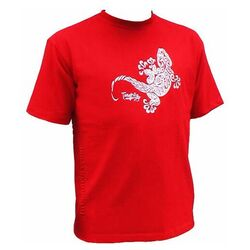 Lizard White T-Shirt