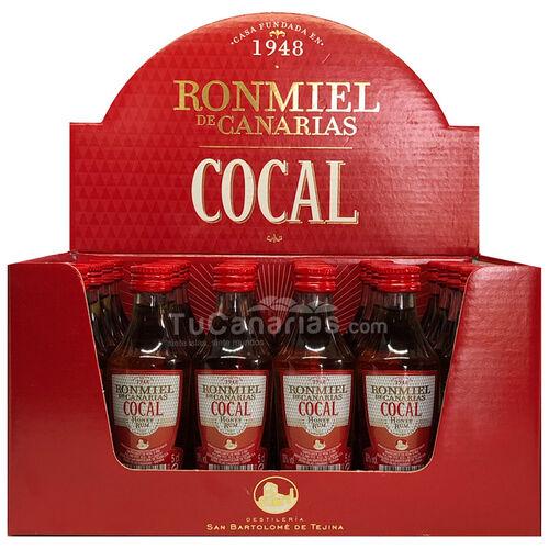 Ron Miel Cocal Miniatura - Personalizacion Gratis - Bodas