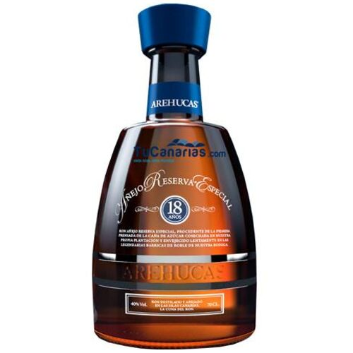 Rum Arehucas 18 years Especial Reserve with case