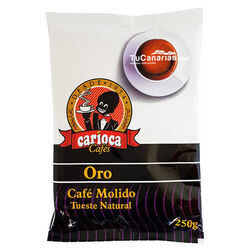 Cafe Carioca Oro Molido Tueste Natural