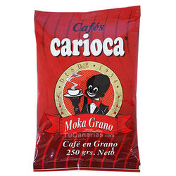 Carioca Moka Grain Coffee Natural Roast 250g