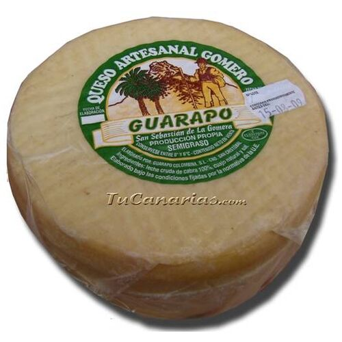 Gomera Hand made Guarapo Cheese Medium 1000 gr.