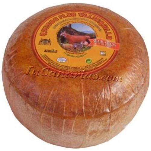 Valsequillo Cheese Med ripened Red 500 gr.