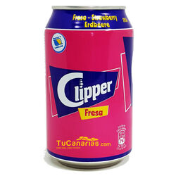 Refresco Clipper de Fresa 33 cl 1 und.