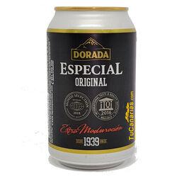 Cerveza Dorada Especial 33 cl