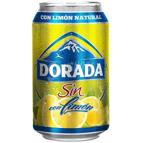 Dorada Beer Lemon Alcohol Free 33 cl