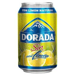 Dorada Beer Lemon Alcohol Free 33 cl 1 und.