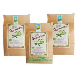 150g Canary Islands Soursop 100% Organic Dry Leaves 3x2 (9€ unit 50g)