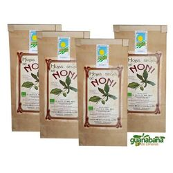 100g. Canary Islands Noni - 100% Organic Dry Leaves - (4x3 - 5,2€ per unit)