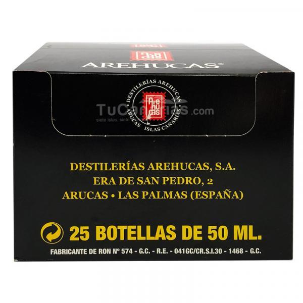 Honey Rum Arehucas Guanche Miniature - Free Customized