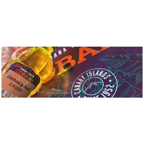 Banana Liqueur Cobana - Free Customized