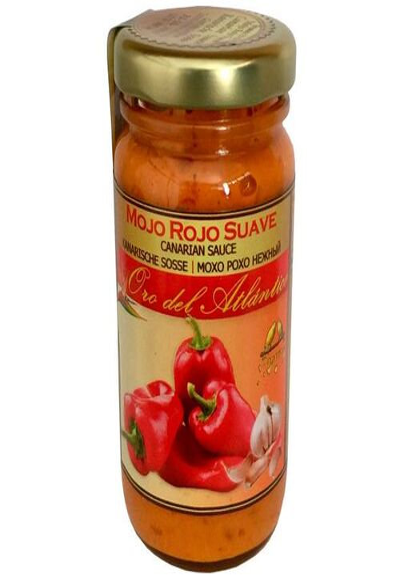 Mojo Red Mild Sauce Oro Atlantico 100 ml - Free Customized