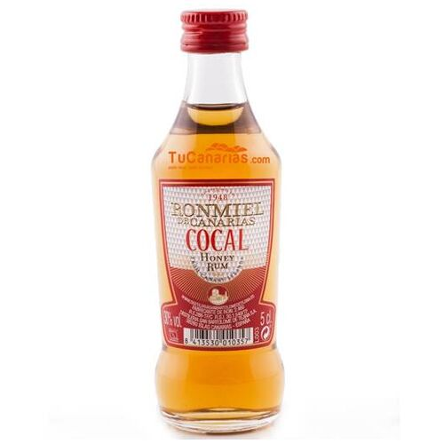 Honey Rum Cocal Miniature - Free Customized