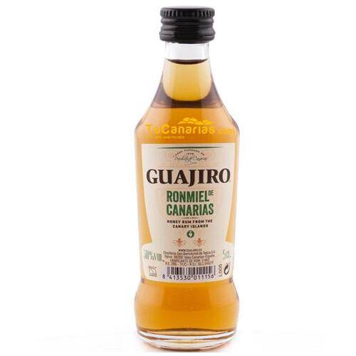 Miniature Honey Rum Guajiro 30% - Free Customized