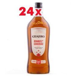 24 botellas Ron Miel Guajiro 20% 1 Litro