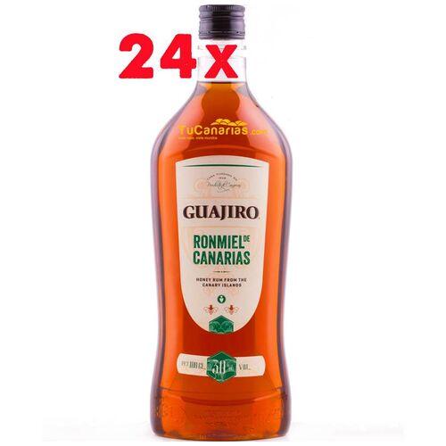 24 flaschen Guajiro Honig Rum 30% 1 Liter