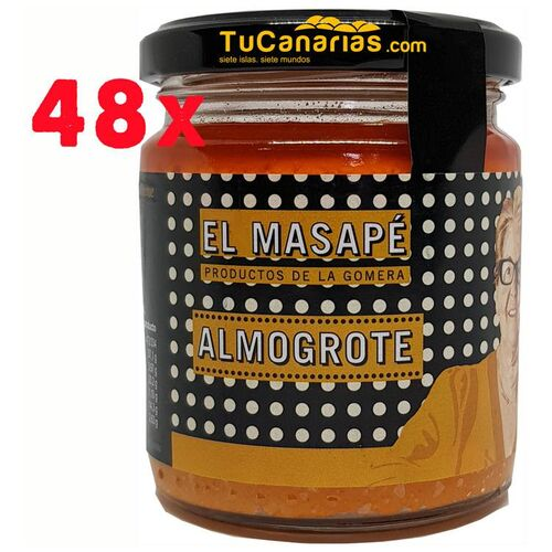 48 einheit Almogrote La Gomero Handwerker Masape 220g