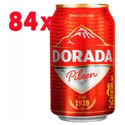 84 cans Dorada Beer Pilsen 33 cl