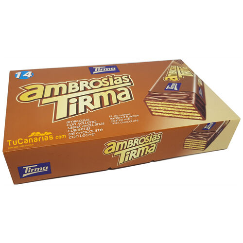 Tirma Hazelnut Filled Wafers 14 units