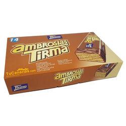 Ambrosias Tirma Avellanas 14 unidades 1 und.