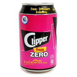 Clipper Strawberry Soda Zero 330 cc