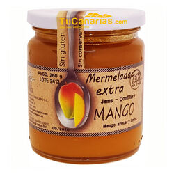 Mermelada Extra Mango Isla Bonita Natural 260g