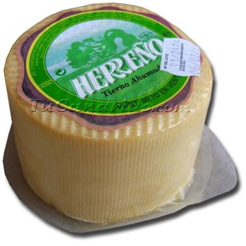 Herreño Cheese White Smoked 600 g. - 2009 World Silver