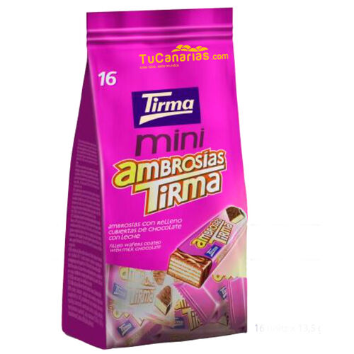 Ambrosias mini Tirma Chocolate 16 unidades