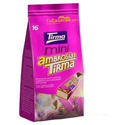 Tirma Wafers Ambrosia Chocolate 16 units