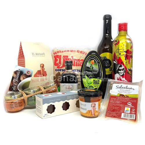 Lote Regalos Mencey Productos de Canarias