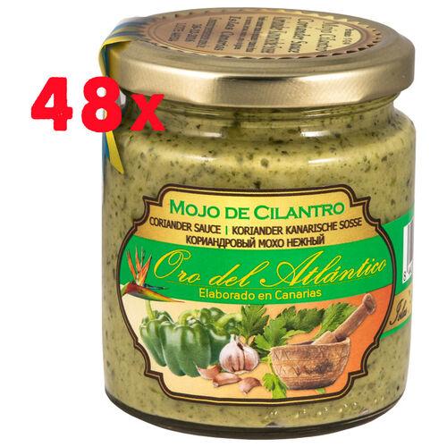 48 einheit Koriander Mojo Sosse Oro Atlantico 250ml