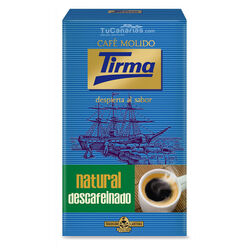 Cafe Tirma Natural Descafeinado Molido 250g