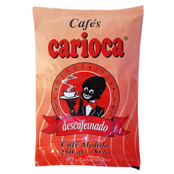 Decaffeinated Coffee Ground Carioca 250g