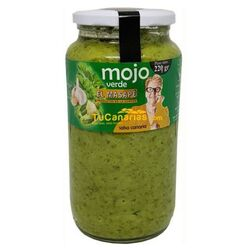 Mojo Green Sauce Artisan El Masape 1 Kg. La Gomera