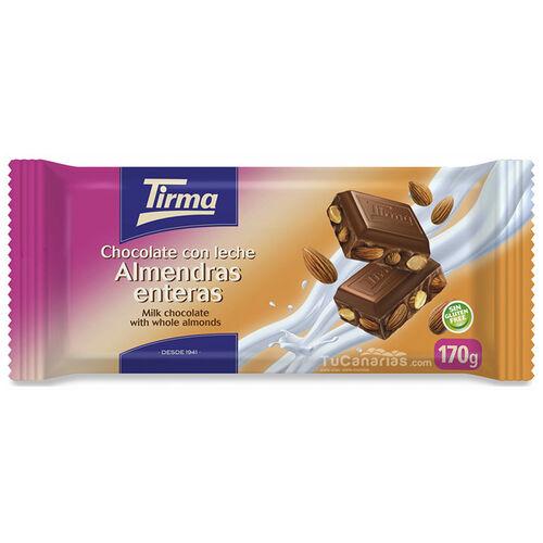 Tirma Schokolade Ganze Mandeln Maxi 170g