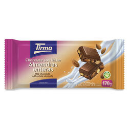 Tirma Chocolate Whole Almonds Maxi 170g