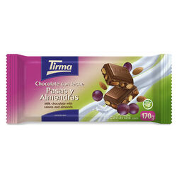 Tirma Chocolate Raisin and Almond Maxi 170g