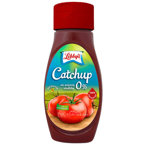 Ketchup Libbys Salsa Tomate 450g Zero Azúcares