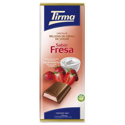 Tirma Chocolate with strawberry yogurt 95g
