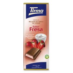 Chocolate relleno Yogur Fresa Tirma 95g