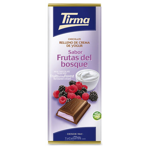 Tirma Chocolate with Berries yogurt 95g