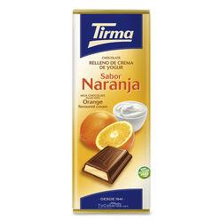 Chocolate relleno Yogur Naranja Tirma 95g