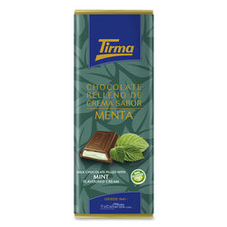 Tirma Chocolate with Mint cream 95g