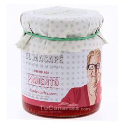 Red Pepper Artisan Jam Masape Natural 290g